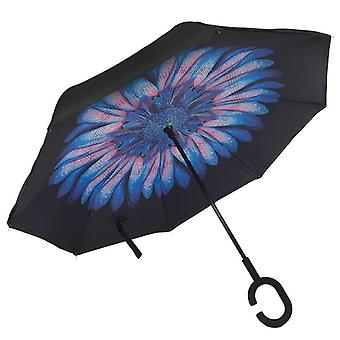 Rain Umbrella For Women - Folding Double Layers