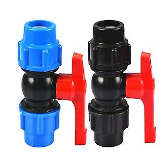 Plastic Water Pipe Quick Valve Connector-(20/25/32/40/50/63mm )