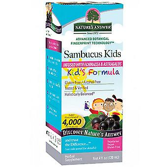 Nature's Answer Sambucus Kids, 4 oz