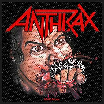 Anthrax Patch Fistful of Metal Band Logo nuovo Official Black