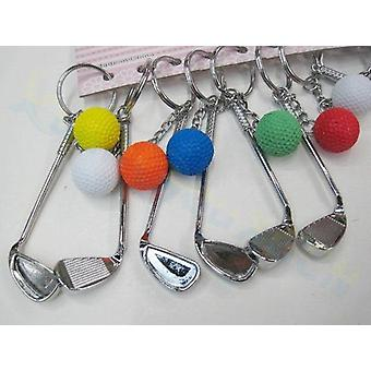 Mini Volleyball Chain, Plastic Key Ring Small Ornaments