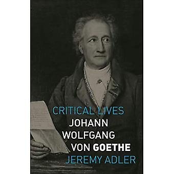 Johann Wolfgang von Goethe (Critical Lives)