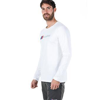 Berghaus Mens Big Corp Logo Long Sleeve T-Shirt