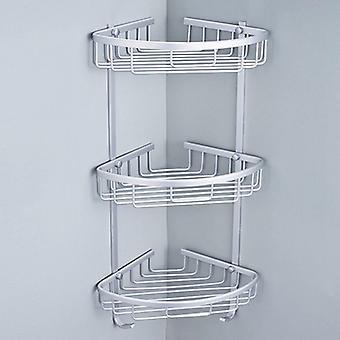 Bathroom Punch Free  Aluminum Triangular Rack Storage