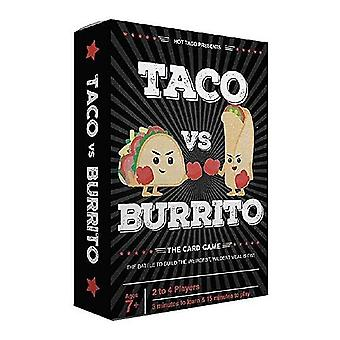Taco Vs Burrito-the Wildly Popular Strategic Card  Board Toy For Family