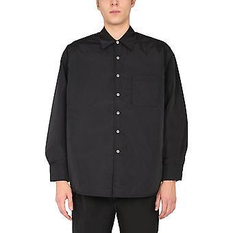 Our Legacy M4192tp Men's Black Nylon Outerwear Jacket