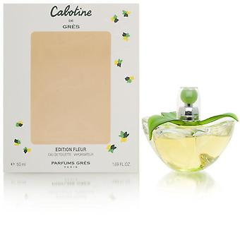 Cabotine by gres for women 1.69 oz eau de toilette spray 2000 fleur limited edition