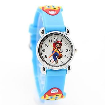 New Arrival High Quality Cartoon Super Mario Doll Watch Kids Girls