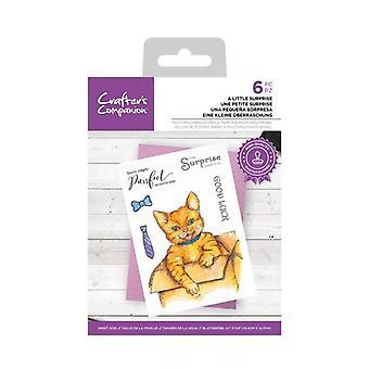 Crafter's Companion Clear Stamp En liten överraskning