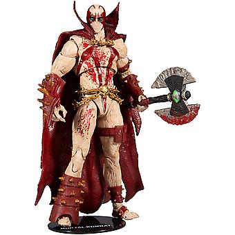 Mortal Kombat 4 Action Figure Spawn Bloody 18 cm