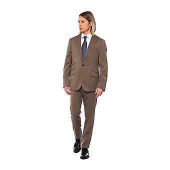 Billionaire Brown Men's Costume