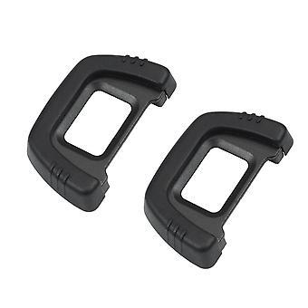 Générique [2 pack] dk-23 eyecup en caoutchouc eyecup viseur pour nikon d7100 d7200 d300 d300s dslr camer