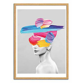 Art-Poster - Beauty in Colors - Seven trees