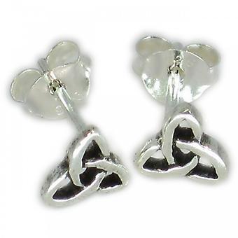 Celtic Style Tiny Sterling Silver Stud Oorbellen .925 X 1 Paar Studs