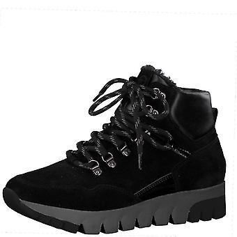 Booties Flats Peigne noir