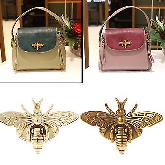 Fashion New Bee Shape Clasp Turn Lock Metal Hardware For Diy Handbag Shoulder