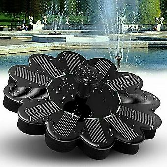 Fountain Kit Solar Water Pump Outdoor Landscape Fish Fountain Garden Decoration