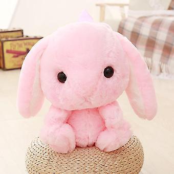 Plush Rabbit Long Ear Bunny Bag, Plushie Doll, Backpack For, Kids