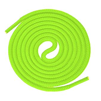 Neon Yellow Round Sport Trainer Shoelaces