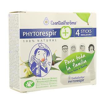 Phytorespir + 4 Inhaler Sticks 30 ml Dropper Bottle + 4  Inhalator Sticks