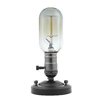 Lamp Base E27 E26 Electroplating Aluminum Vintage Retro Antique Edison Ceiling