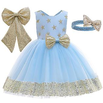 Tutu Princess Kids Dresses For, Bowknot, Wedding Gown, Clothing