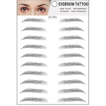 Magic 4d Hair-like Eyebrow Tattoo Sticker False Eyebrows