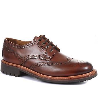 Jones Bootmaker Mens Bushwick Goodyear Welted Leather Brogues