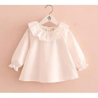 Spring Blouses Cute, Long-sleeve Ruffle, Tops Shirts &
