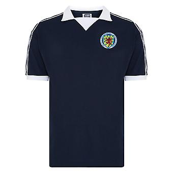 Score Draw Scotland Football 1978 Retro Shirt