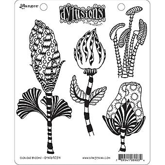 Dylusions By Dyan Reaveley - Cling Stamp Sets - Glorious Blooms