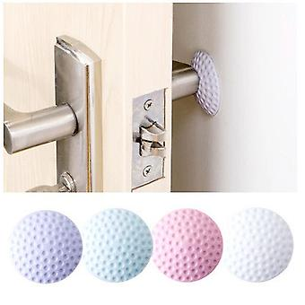 10PCS Soft Rubber Pad To Protect The Wall Self Adhesive Door Stopper Golf Modelling Door Fender Stickers