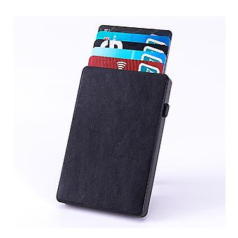 H-basics RFID Blocker Card Case - Credit Card Case Wallet with RFID Protection Perfect as wallet for bank cards, ID cards etc.