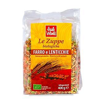 Spelled and lentil soup 400 g