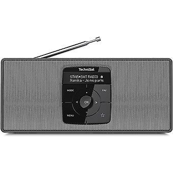 Wokex DIGITRADIO 2 S - Tragbares DAB Stereo-Radio mit Akku (DAB+, UKW, Bluetooth Audiostreaming,