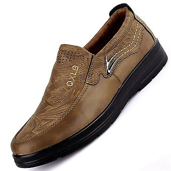 Men Casual, Fashion Leather Shoes