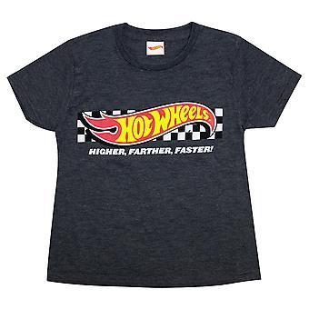Hot Wheels Meisjes Hoger Verder Sneller T-Shirt