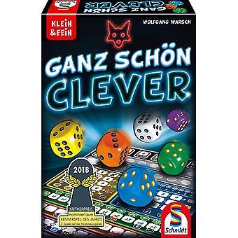 FengChun 49340 Ganz Schn Clever, Wrfelspiel aus der Serie Klein Fein, bunt