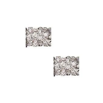 """קריסטל סברובסקי, #5951 חרוז שפופרת סלעים משובחים 8 מ""""מ, 2 חלקים, קריסטל אור ירח"""