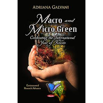 Macro Micro Green door Adriana Galvani