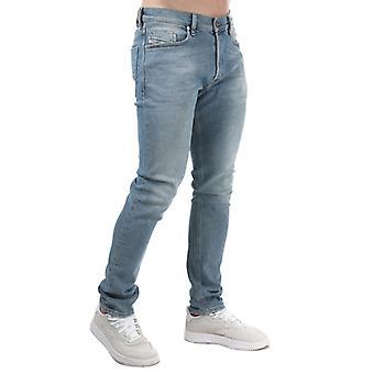 Herren Diesel Tepphar-X Slim-Carrot Jeans in Blau