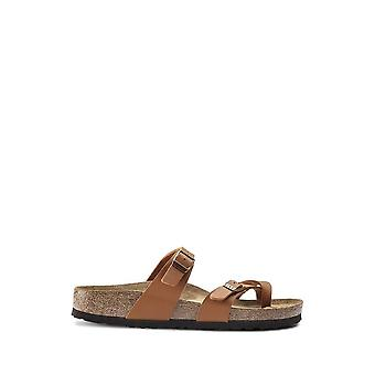 Birkenstock - Sapatos - Chinelos - MAYARI-1019053-BROWN - Mulheres - peru - UE 35