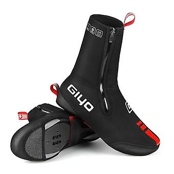 サイクリングシューズは、防水防風ウォームオーバーシューズMTBロード自転車自転車冬の靴カバープロテクターをカバー