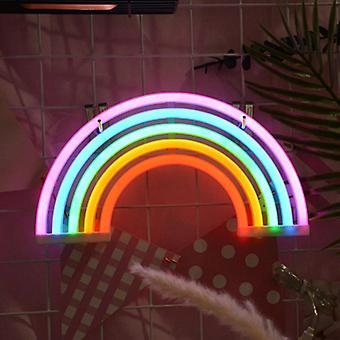 Regenbogen Form Neon Led Nachtlicht