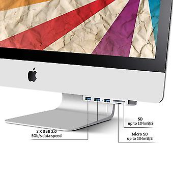 Stație de andocare potrivită pentru apple all-in-one usb3.0 splitter imac pro hub computer hub sd tf