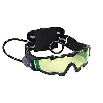 Espejo de visión nocturna lente verde con luz Led a prueba de viento y polvo