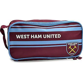 West Ham Stripe Design Bootbag