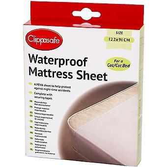 Clippasafe Waterproof Mattress Sheet