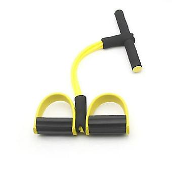 Sit Up Aid, Portable Adjustable Sit Up Assist, Sit Up Muscle Training Body(YELOOW)