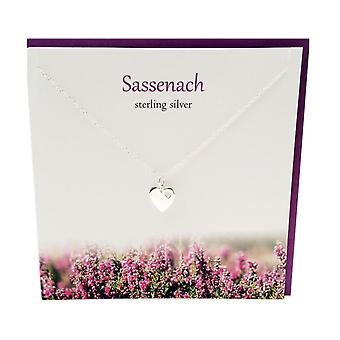 Outlander Inspired Sassenach Pendant Card by The Silver Studio